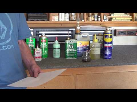 The Best Lathe Cutting Fluids Video #121