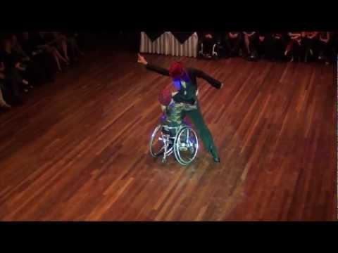 Latin Star Gala 2012 - Show Wheelchair Chacha - Igor Kiselev & Anna Gorchakova
