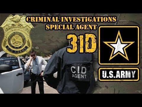 31D Criminal Investigations Special Agent (CID)
