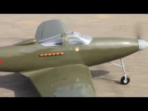 видео: Bell P-39 Airacobra - 3 (Облёт)