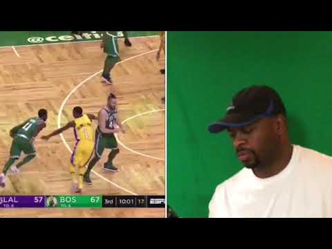 Lonzo Ball vs. Kyrie Irving: Celtics-Lakers
