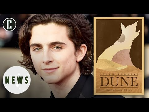 Dune Movie Eyes Timothée Chalamet for Lead