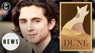 Dune Movie Eyes Timothée Chalamet for Lead