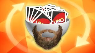 THE MANLIEST GAME OF UNO | UNO Team Games w/ The Derp Crew
