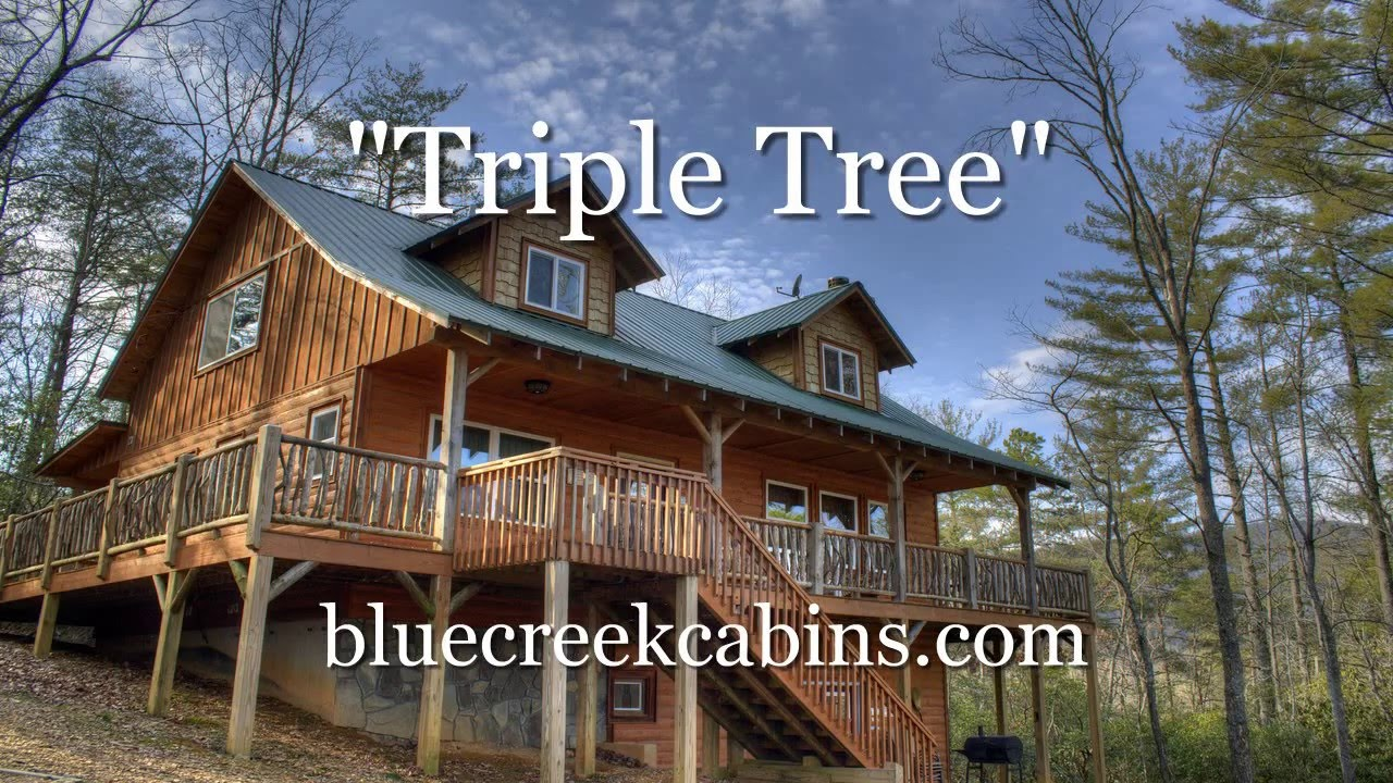 Delicieux Triple Tree Cabin :: Blue Creek Cabins :: Helen, GA