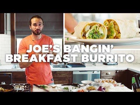 Joe's Bangin' Breakfast Burrito x Hostelworld