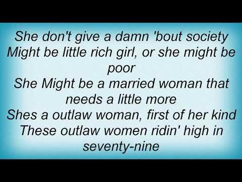 Hank Williams Jr. - Outlaw Woman Lyrics