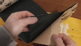 {ASMR} Putting on your Griptape: Crinkley plastic, skate mag, soothing grip sounds, soft spoken :) Thumbnail