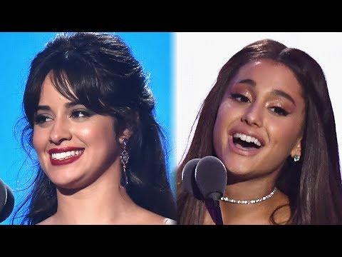 Camila Cabello Calls Ariana Grande Her 'WIFEY' During 2018 MTV VMAs Speech
