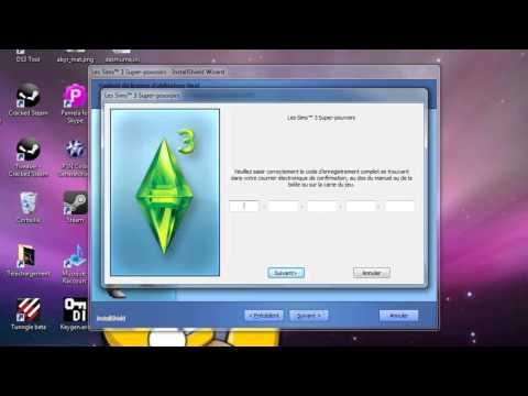 TUTO FR  Comment cracker Les Sims 3 SuperPouvoirs