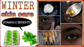 💚USES OF VITAMIN E CAPSULES💚||വരണ്ട ചർമ്മo|| home remedy for dark circles||Tips for glowing skin||