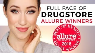 Full Face Using Allure Drugstore Winners 😱
