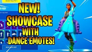 *NEW* YEE-HAW! SKIN SHOWCASE With DANCE EMOTES! Fortnite Battle Royale