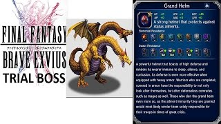 Download lagu Final Fantasy Brave Exvius Trial Boss Two Headed Dragon MP3