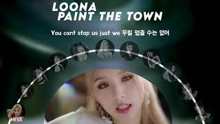 [COLLAB COVER] LOONA - PTT (Paint The Town)