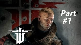 Wolfenstein The New Order Gameplay Walkthrough Part 1-American Hero (XBOX ONE Gameplay)