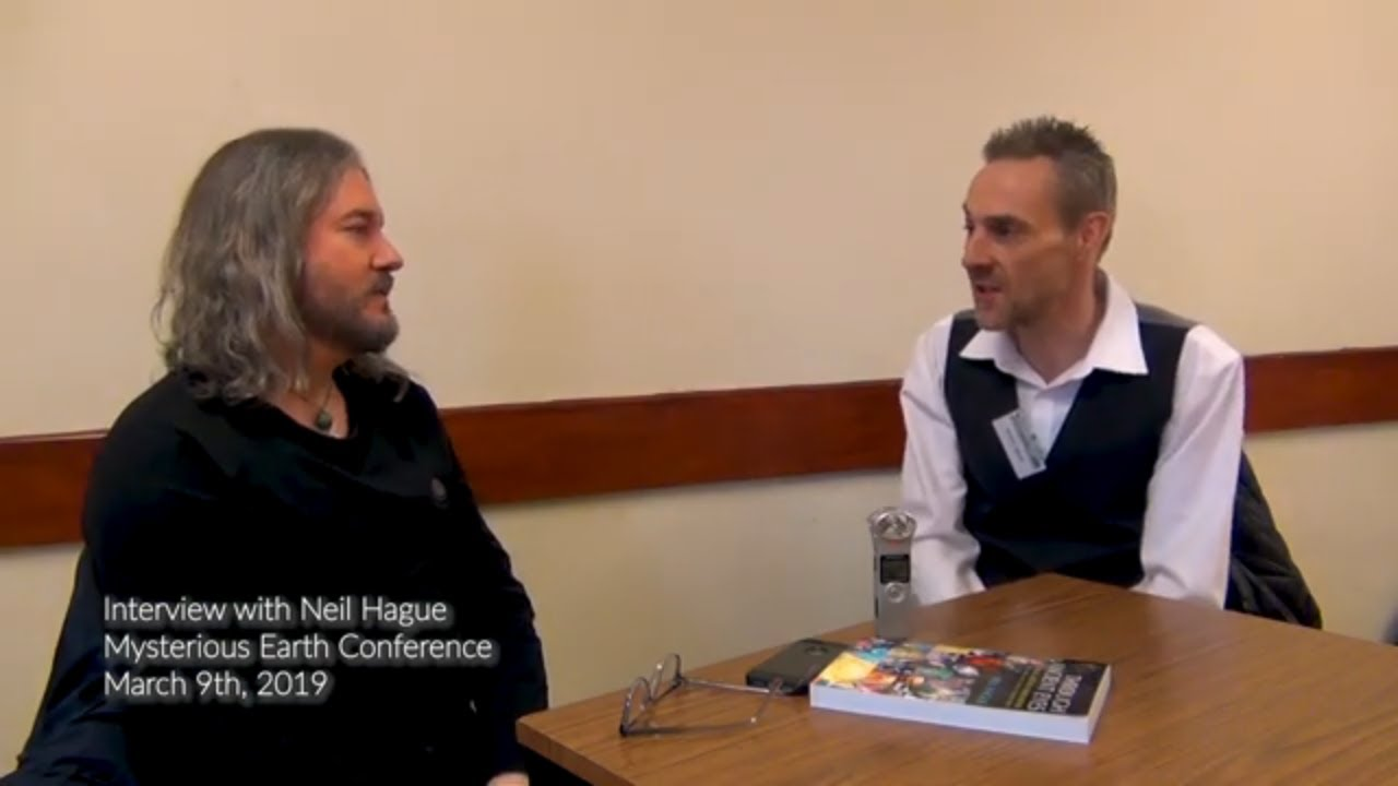 Neil Hague talks about the subjects in his book, Orion's Door