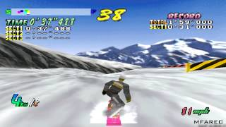 Cool Boarders 2 Gameplay Competition - All Round (PSX,PS)
