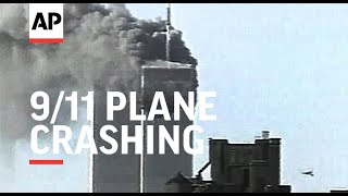 Amateur Video Of Plane Crashing, Towers On Fire