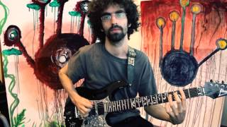 Groovy Diminished Riff - Metal Monday Tutorial #7 with Fake Dr. Levin