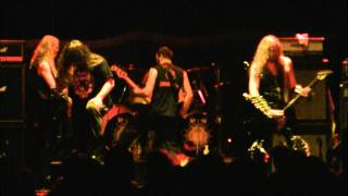 """Infernal Majesty """"None Shall Defy"""" live with Corpsegrinder on vox"""
