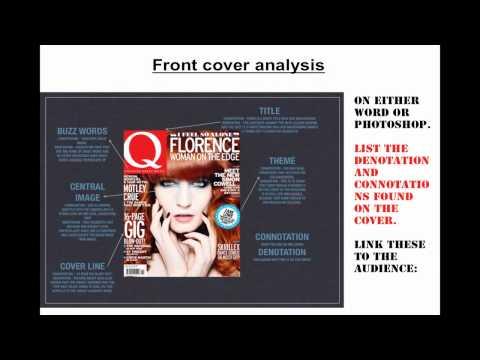 4.Denotation & Connotation  (GCSE media studies Assignment 1 guide)