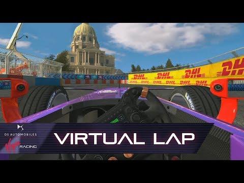 Formula E Paris E-Prix Virtual Lap! (Real Racing 3)