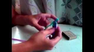 Видеоурок по плетению фенечек #1