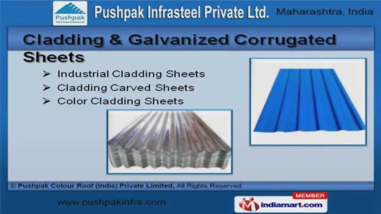 Colour roof sheets - Galvanized Sheets By Pushpak Colour Roof India Private Limited Pune