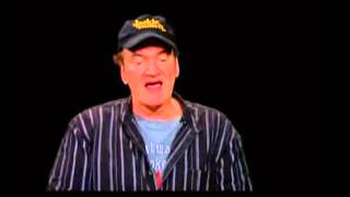 Quentin Tarantino on Charlie Rose - Django Unchained - Part 1