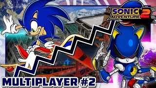 Sonic Adventure 2: Battle - 2P Multiplayer Sessions #2: Action Racing