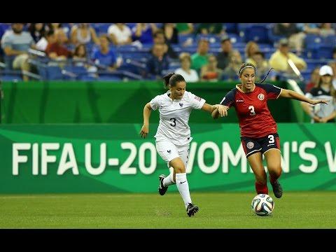 France v. Costa Rica, Canada 2014 HIGHLIGHTS