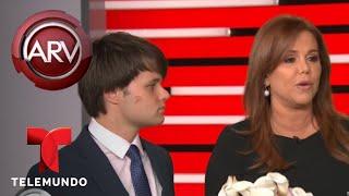 María Celeste recibió una emotiva sorpresa de sus hijos | Al Rojo Vivo | Telemundo