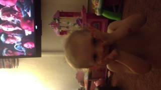 Baby Dancing to Pitch Perfect