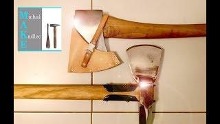 Making ARVIKA 5 star axe leather sheath