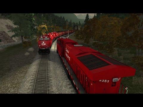 Train Simulator2015 CP rail episode1 part 3