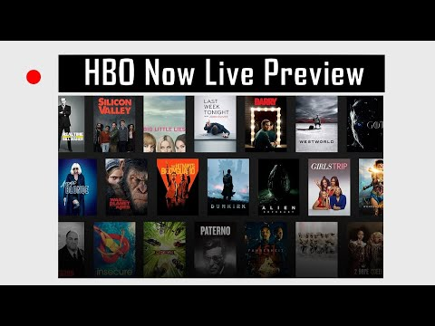 HBO NOW Live Preview