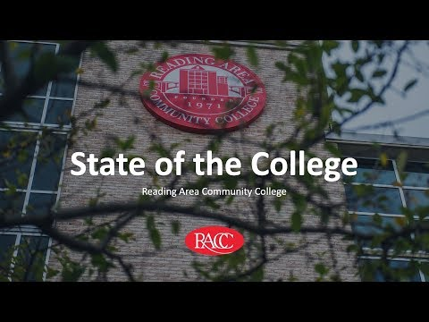 2019 Reading Area Community College State of the College Address