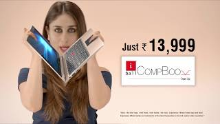 iBall CompBook i360 TV Commercial - Touch and 360˚ Convertible Laptop