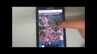 Latitud y longitud coordenadas GPS para Android Free HD Video