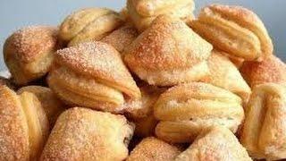 Печенье из творога.Очень просто!!!