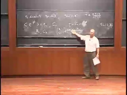 Some Basic Superstring Theory, John Schwarz | Lecture 2 of 2