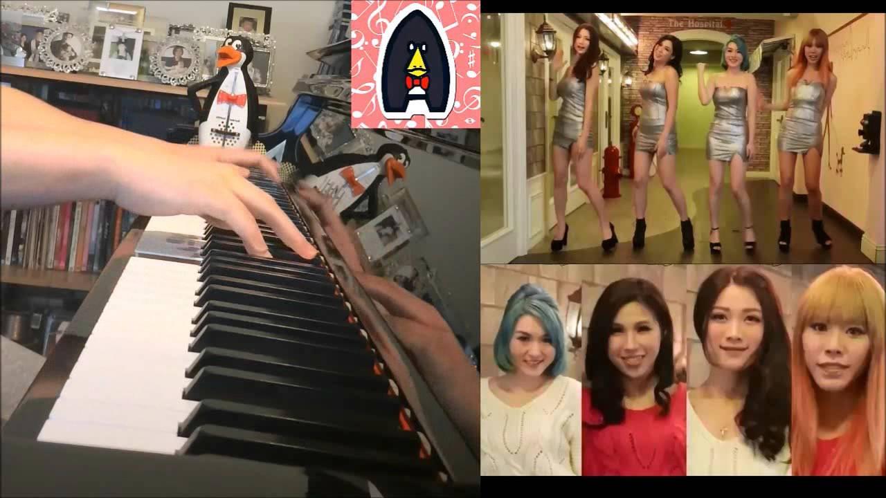 FFx - SUGAR BABY - 香港4人女子跳唱組合 (鋼琴版 Piano Cover) - YouTube