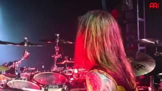 "Chris Adler Lamb of God Live ""Set To Fail"""