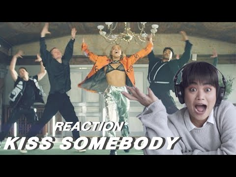 REACTION ︱KISS SOMEBODY - JULIE BERGAN WITH SEEB