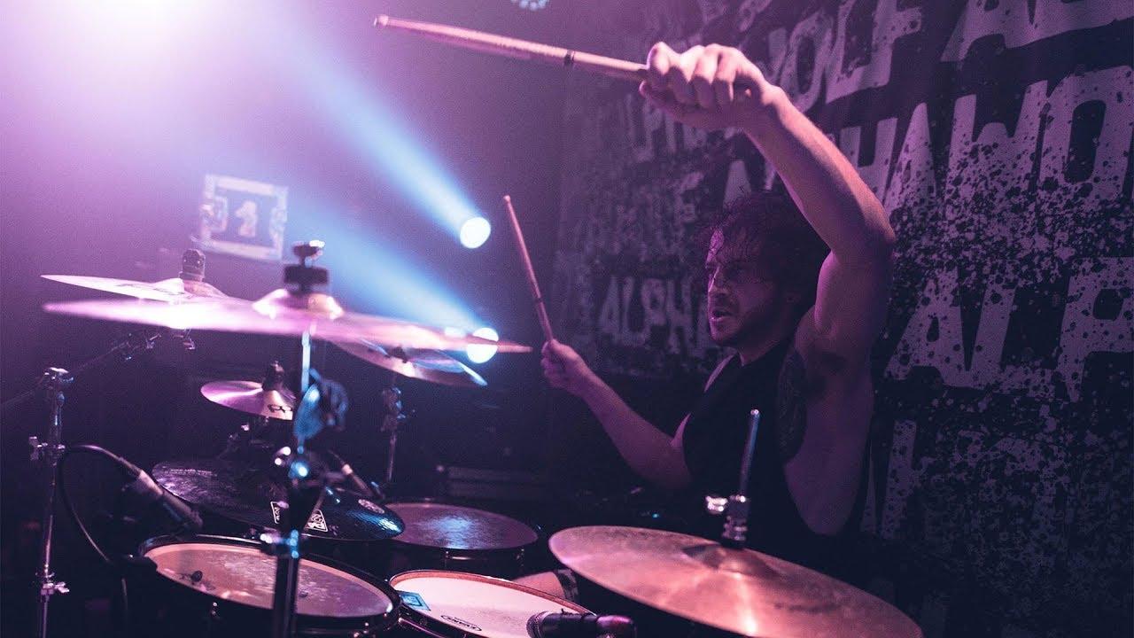 Gravemind | Anaesthesia | Drum Cam (LIVE)