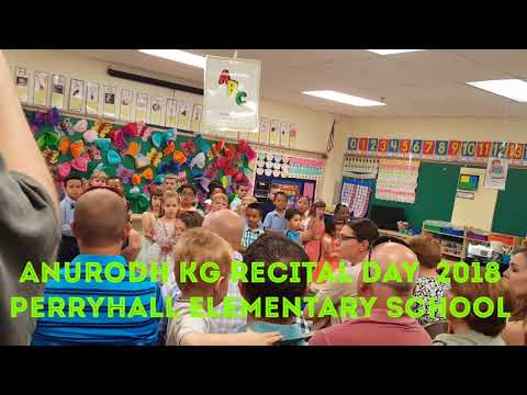 ANURODH'S  KG RECITAL DAY 2018 PERRY HALL ELEMENTARY SCHOOL