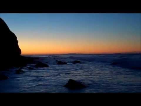 Day break at Burro Arroyo Beach, Santa Barbara, California