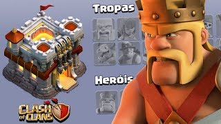 BUG OU HACK? AS VILAS MAIS ESTRANHAS DO CLASH OF CLANS