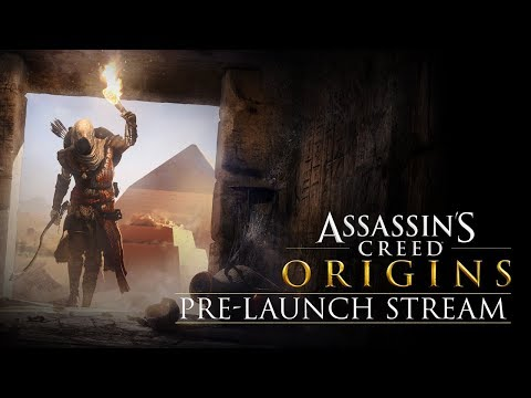 Assassin's Creed Origins Pre-Launch Stream
